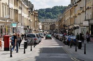 Google street view awards: Milsom Street, Bath