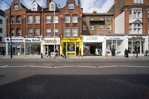 Google street view awards: Kings Road, London