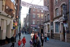 Google street view awards: Mathew Street, Liverpool