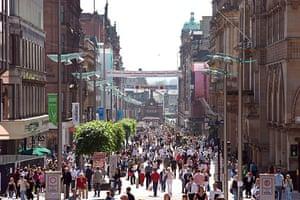 Google street view awards: Buchanan Street, Glasgow