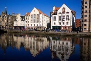 Google street view awards: The Shore, Edinburgh