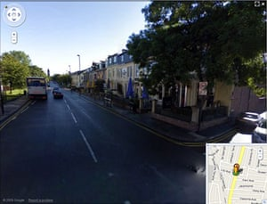Google Street View: Osborne Road, Jesmond