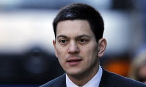 David Miliband arrives at the Chilcot inquiry into the war in Iraq on 8 March 2010.