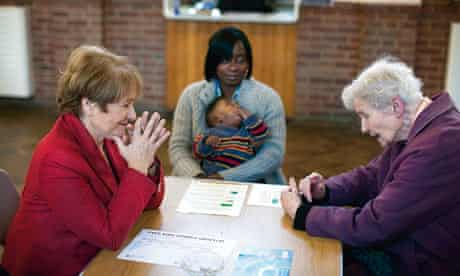 Margaret Hodge talks to senior