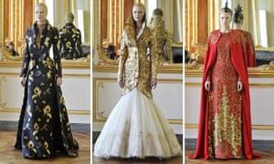 b5b0fc247e3c Alexander McQueen s last collection unveiled on Paris catwalk ...