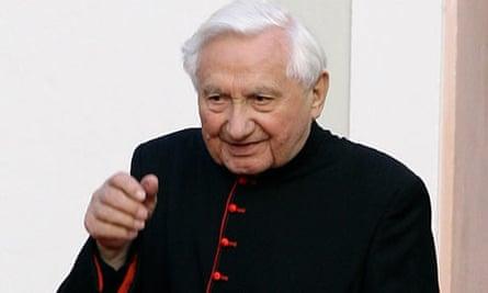 Georg Ratzinger, brother of Pope Benedict XVI