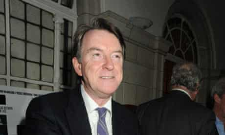 Lord Mandelson.