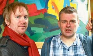 Paul Farley and Mark Haddon