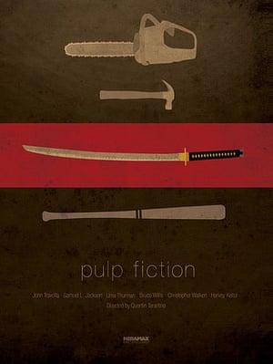 Ibraheem Youssef posters: Pulp Fiction