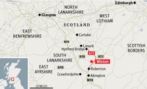 Scotland/Lanarkshire bus crash