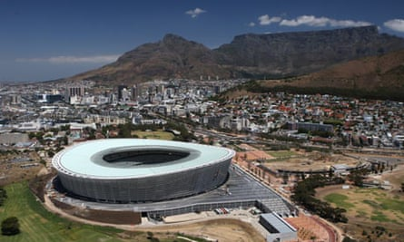 The new stadium in Cape Town