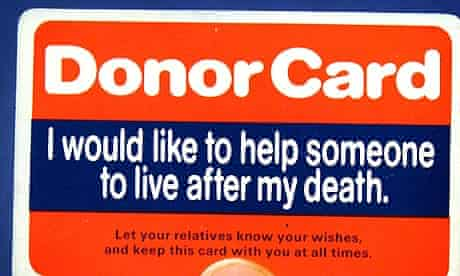 Organ donor shortage