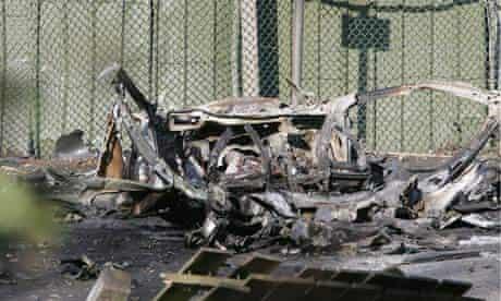 Car bomb Belfast