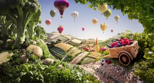 Food art: Carl Warner food landscape
