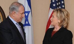 Hillary Clinton and Binyamin Netanyahu