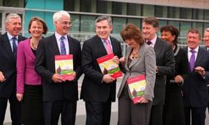 Gordon Brown Publishes The Labour Party Election Manifesto
