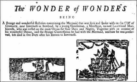 'The wonder of wonders' - a 1700s broadside