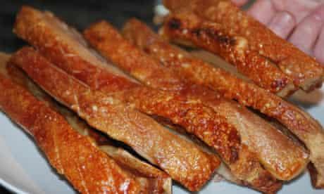 Pork crackling