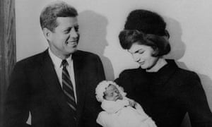 John F Kennedy and his wife Jacqueline Kennedy