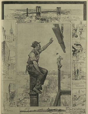 Illustrated London News: 3 New York skyscrapers
