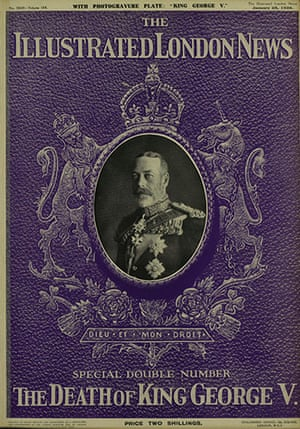 Illustrated London News: 5 Death of George V