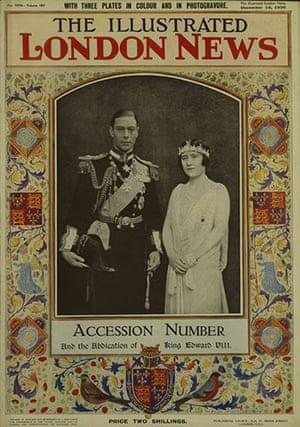 Illustrated London News: 6 Abdication
