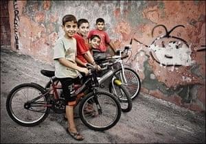 Tour of Turkey: Photography tour of Turkey, Boys and Bikes