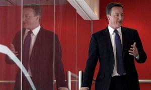 David Cameron on 14 April 2010.