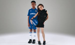 Children as Ashley and Cheryl Cole