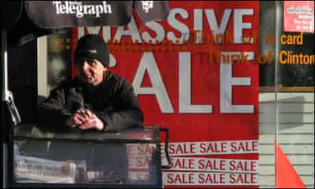 A stand selling the Belfast Telegraph