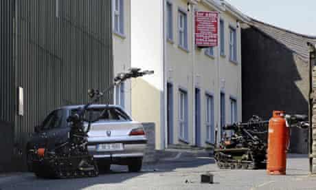 Car bomb newtownhamilton