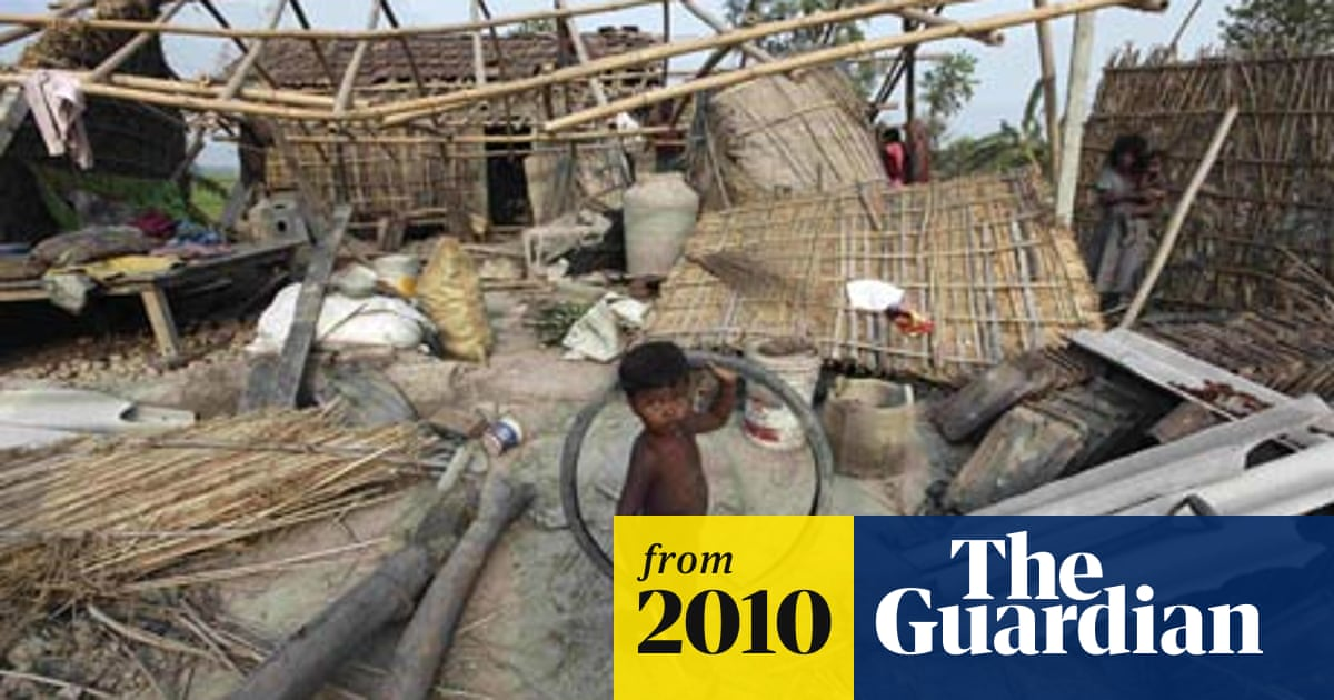 Deadly Cyclone Hits North East India World News The Guardian