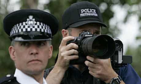 Police photographer