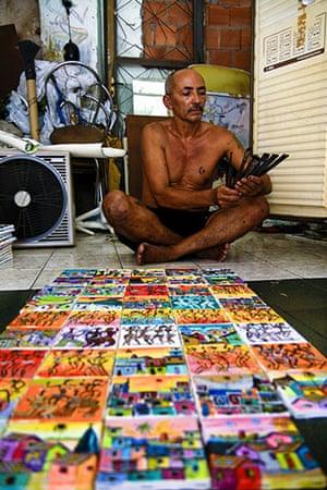Te Vejo Maré: The artist Clemenildo at home