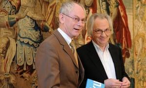 Van Rompuy launches haiku poetry book