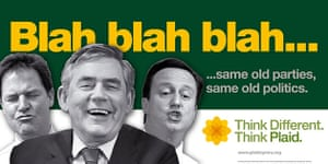 Election posters: Plaid Cymru's latest General Election campaign poster