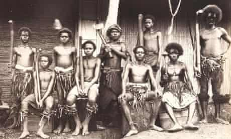 A photograph from A Trip To The Highlands of Viti Levu, which was discovered in an Oxfam bookshop