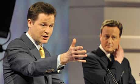 Nick Clegg Leader's Debate