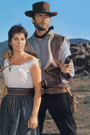 Clint Eastwood at 80: Clint Eastwood with Marianne Koch in Fistful of Dollars (1964)