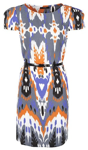 The fashion briefing: George Gucci print dress