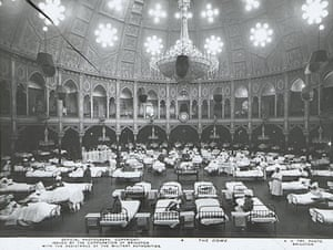Brighton Royal Pavilion: Brighton Royal Pavilion as first world war hospital for Indian soldiers.
