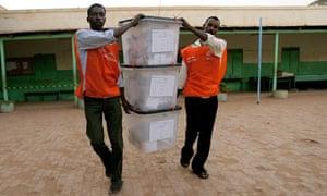 Sudan election