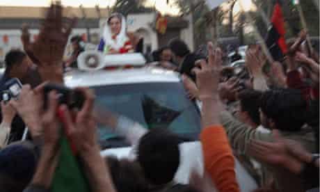 Benazir Bhutto before murder