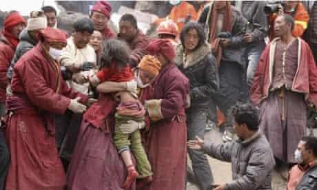 earthquake Yushu china