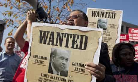 Goldman Sachs DC Offices protest