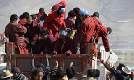 China earthquake aid