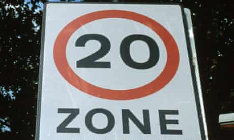 Twenty mile an hour (20mph) speed limit