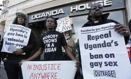 Anti-Homosexuality Bill protest