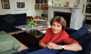 Joan Bakewell at her north London home.