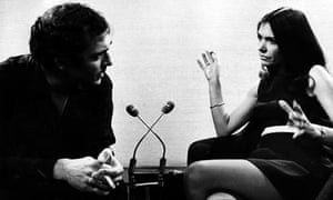 Bakewell interviews Harold Pinter on Late Night Line-Up, 1969.